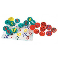 Adding Up Number Stampers Pack of 20