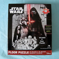 Star Wars The Force Awakens 46pce Shaped Floor Puzzle