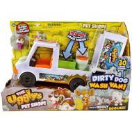 The Ugglys Pet Shop S1 Dirty Dog Wash Van