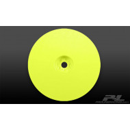VELOCITY 2.2 HEX FRONT YELLOW WHEELS (2) FOR RB5 & B4.1 WITH 12MM HEX