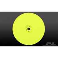 VELOCITY 2.2 HEX REAR YELLOW WHEELS (2) FOR RB5 &B4.1 WITH 12mm HEX
