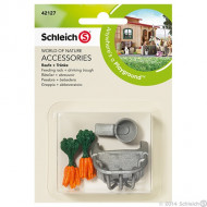 SC42127 Schleich Feed Rack & Drinking Trough