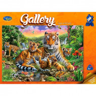 Holdson Gallery Tiger & Cubs 300pc Jigsaw Puzzle