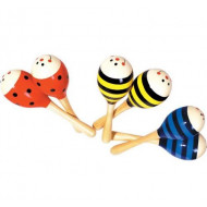Large Wooden Maraca Assorted