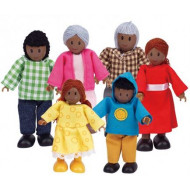 Hape African Family Set of 6
