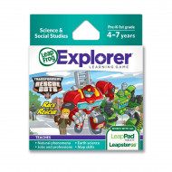 LeapFrog Learning Game Transformers Rescue Bots