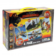How To Train Your Dragon 4 Puzzles in Carry Box
