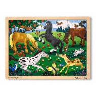 M&D - Frolicking Horses Jigsaw - 48pc