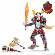 Schleich - Dragon Knight Hero with Weapons