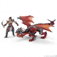 Schleich - Warrior with Dragon