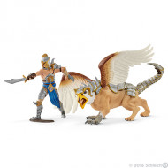 Schleich - Warrior with Griffin