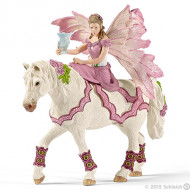 Schleich - Feya in Festive Dress Riding