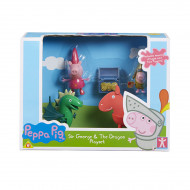 Peppa Princess Sir George Playset