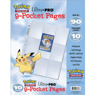Pokemon - 9 Pocket Trading Card Page Pack