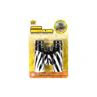 Wild Republic Binoculars Animal Print Zebra
