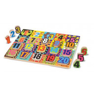 M&D - Jumbo Numbers Chunky Puzzle 20 Pieces