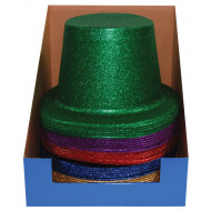 Glitter Hats Assorted Colours