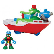 TMNT Half-Shell Heroes Bath Tub Vehicle Asst