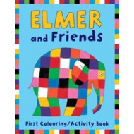 Elmer Friends First Colouring Book PB