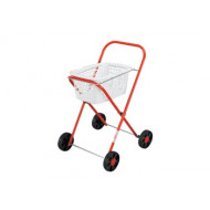 Orbit Metal Clothes Trolley & Basket