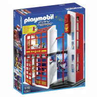 Playmobil - Fire Station with Alarm
