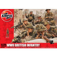 Airfix Wwii British Infantry Northern Europe 1:72