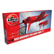 Airfix Red Arrows Gnat 1:46 Scale