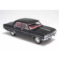 Biante 1:18 Holden HR Premier Sedan Warrigal Black with Astoria Red Interior 1967