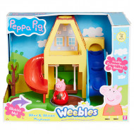 Peppa Pig Weebles Deluxe Playhouse