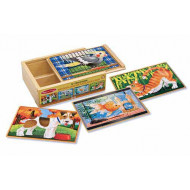 M&D - Pets Puzzles in a Box