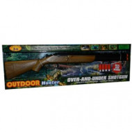 Rifle Shotgun Over & Under - Battery Operated