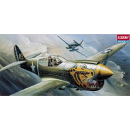 Academy 1/72 P-40E Warhawk Plastic Model Kit