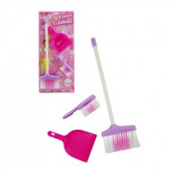 3pc Broom Cleaning Playset
