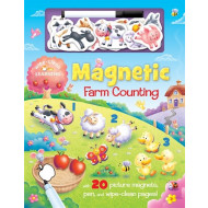 Magnetic Farm Counting Wipe-Clean Pen & Magnet Book