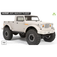 Axial Jeep NuKizer 715 Body - 040 (clear)