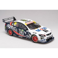 Biante 1:18 Holden VF Commodore #2 Garth Tander - Peter Brock Tribute Livery - Townsville 400 - HRT