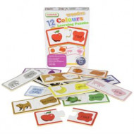Masterkidz Wooden Learning Puzzles - Colours
