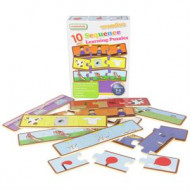 Masterkidz Wooden Learning Puzzles - Sequencing