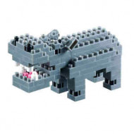 Brixies - Hippo 110 pieces