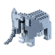 Brixies - Elephant 125 pieces