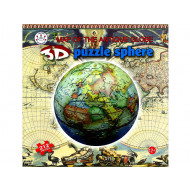 3D-Sphere-Antique-World-Map