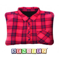 Senseez Vibrating Cushion Trendable Flannel Style for Teenagers/Adults
