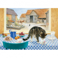 Holdson Cat Charms Twiglet Table 1000pc Jigsaw Puzzle