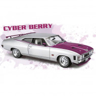 Classic Carlectables 1:18 Ford XA Falcon Coupe Custm Cyber Berry