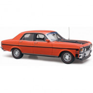 1:18 Ford XW Falcon Phase II GTHO - Brambles Red Classic Carlectables