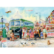 Cobble-Hill-British-Pier-275pc-Jigsaw-Puzzle-Large-Piece