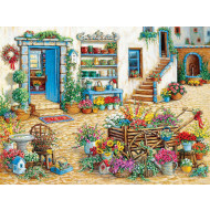 Cobble-Hill-Fancy-Flower-Shop-275pc-Jigsaw-Puzzle-Large-Piece