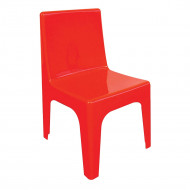 Jolly Kidz Resin Chair - Red