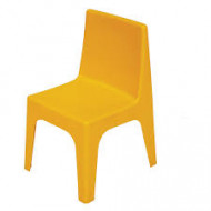 Jolly Kidz Resin Chair - Yellow