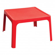 Jolly Kidz Resin Table - Red